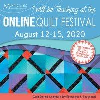Online Quilt Fest poster