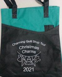 2021 Charming Quilt Shop Tour Tote Bag