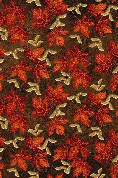 Stonehenge Maplewood Scarlet 22017-36