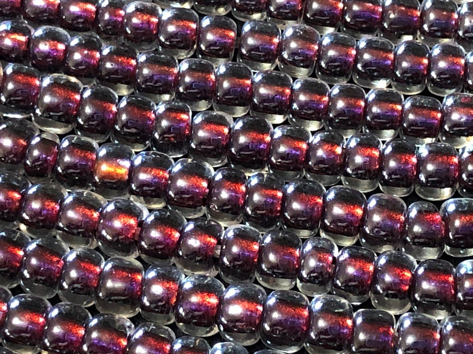 2-3209 Magic Fuchsia Lined Crystal