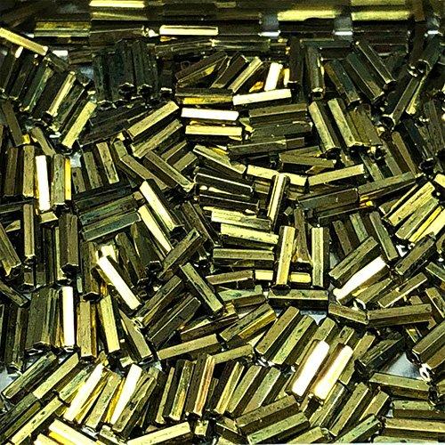 BG457M.6 6mm Bugle, Metalic Bronze