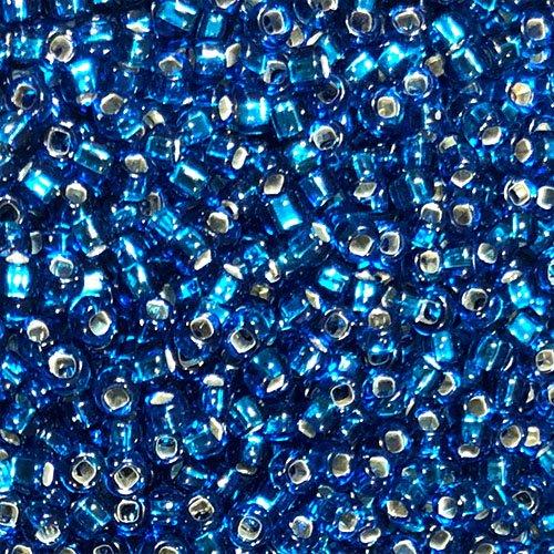 8-017A Silverlined Capri Blue