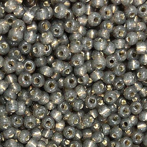 8-590 Giltlined Olive Grey Opal