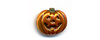 Halloween Button BE254 - Jack O'Lantern