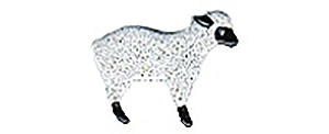 Lamb Button BE560