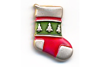 Christmas Button BE606 - Stocking