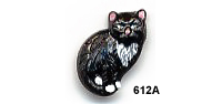 Cat Button BE612