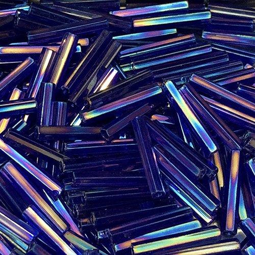 BG177.12  12mm Bugle Transp Cobalt AB