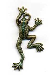 Frog Charm C-1348