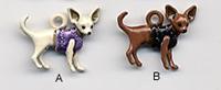 Dog Charm C1357 - Chihuahua
