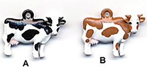 Cow charm - C1386