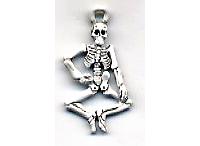 Halloween Charm C1453 - Skeleton