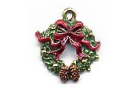 Christmas Charm C1457 - Wreath