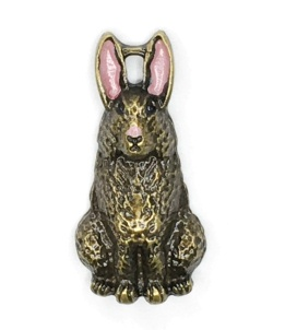 Bunny Button - C531