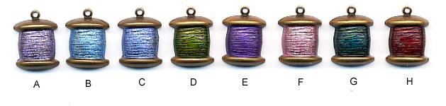 Sewing Charm C574 - Spool of Thread