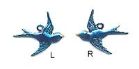 Blue Bird Charm - C973