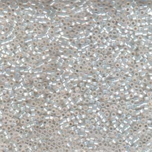 DB221 Gilt Lined White Opal