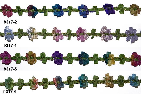 Floral Trim - Mokuba 9317