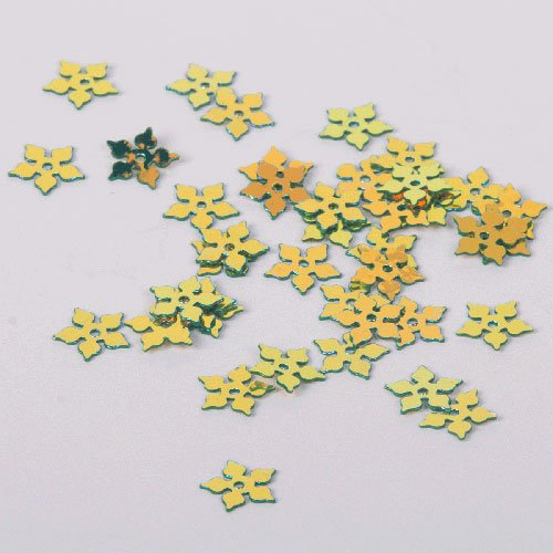 Australian Sequins - Leaf Stars - S40