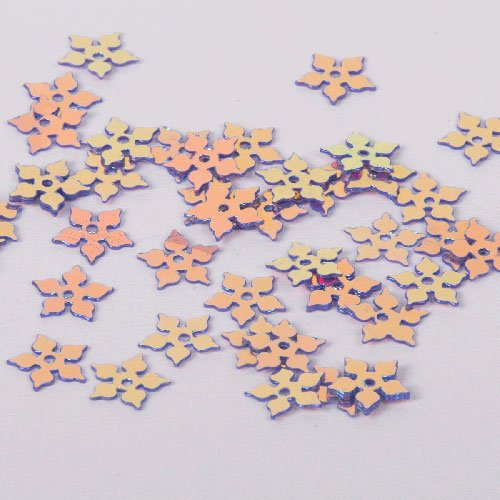 Australian Sequins - Leaf Stars - S41