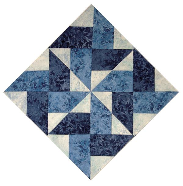 Sapphire Spinwheels - Quilters Trek Pattern 2020