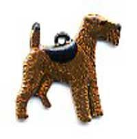 Dog Charm C83 - Airedale