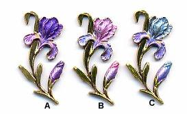 Flower Sew Down SD595 - Iris