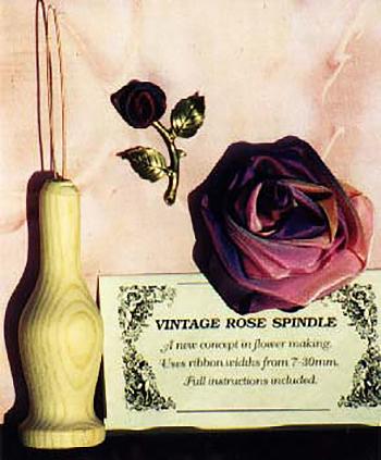 Vintage Rose Making Spindle