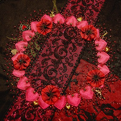 Sugared Wreath - Valentine