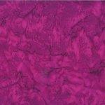 Deep Fuchsia Watercolor Batik