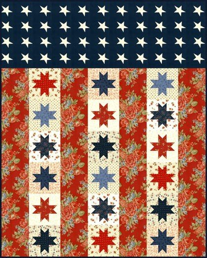 Flag of Valor Quilt Kit