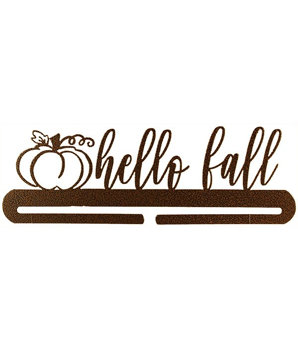 12 Hello Fall Copper Vein Hanger