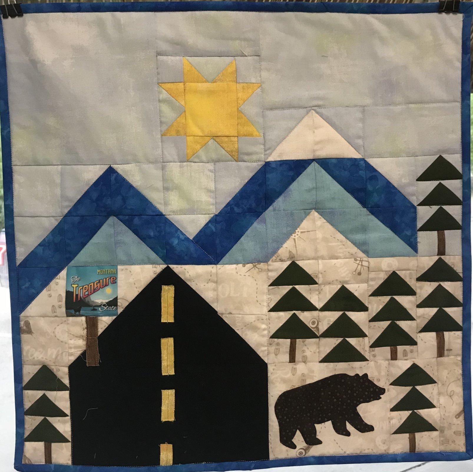 Quilters Trek- Trek To Montana-Cotton