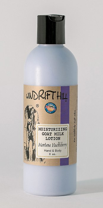 Windrift Hill  Montana Huckleberry Goat milk lotion