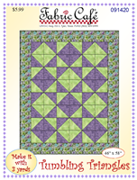 Tumbling Triangles 3 Yard Pattern