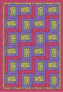 Pathways - A 3 Yard Quilt