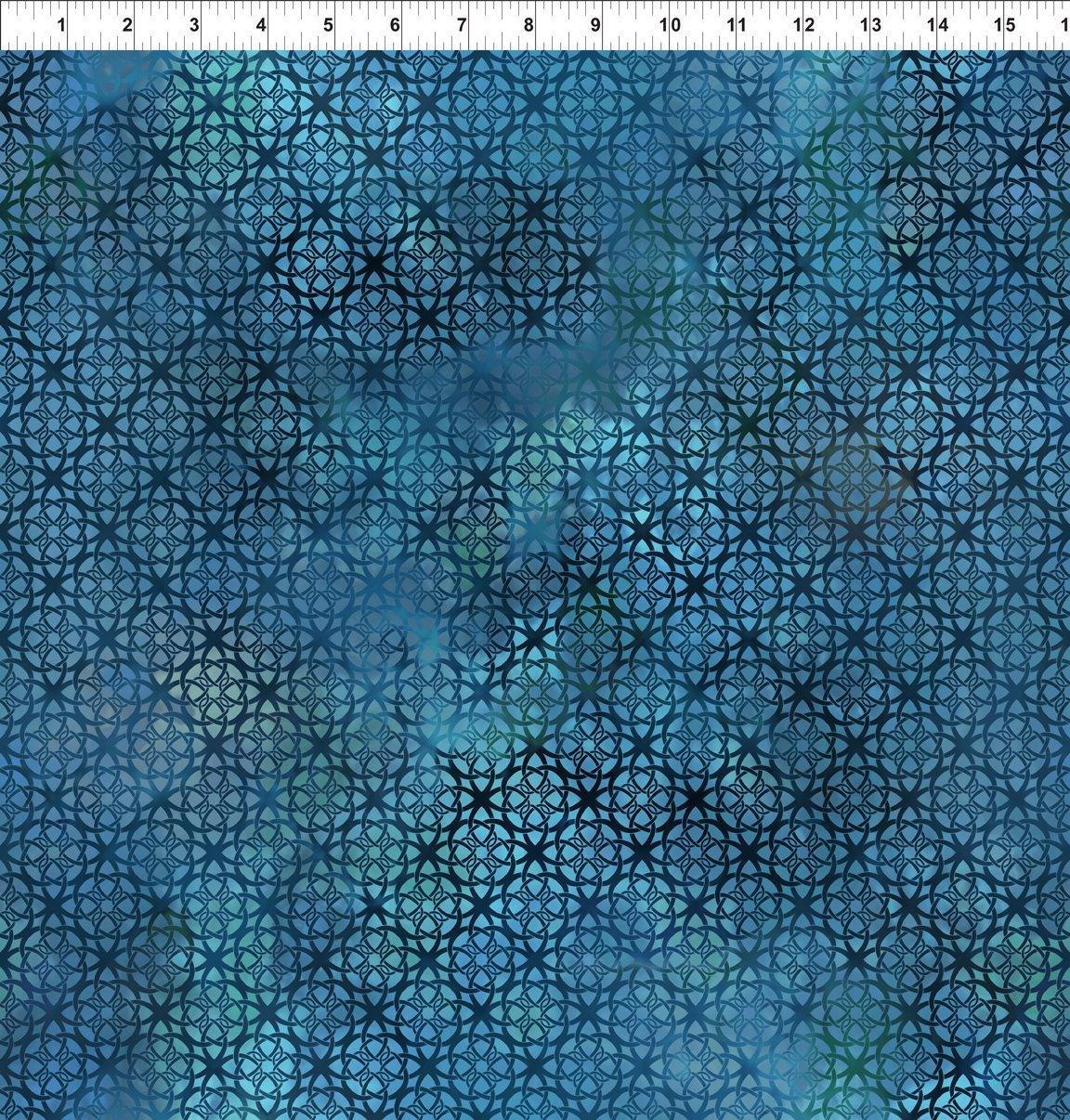 Diaphanous-Trellis-Turquoise