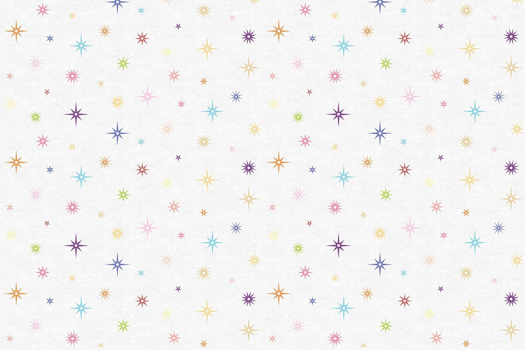 Benartex Contempo Night Sky - White (Crescendo)
