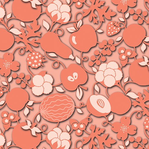 Agriculture Fabric - Peach