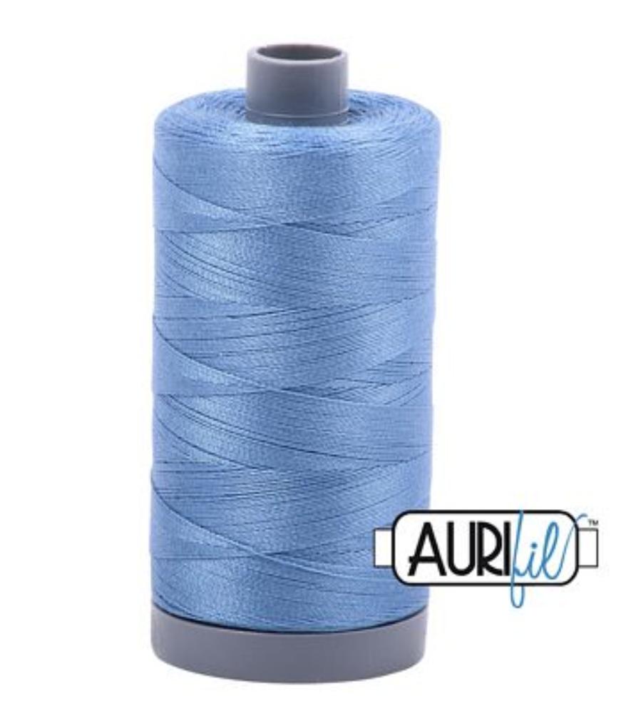 Aurifil 2725 Lt Wedgewood Cotton Thread Solid 28wt
