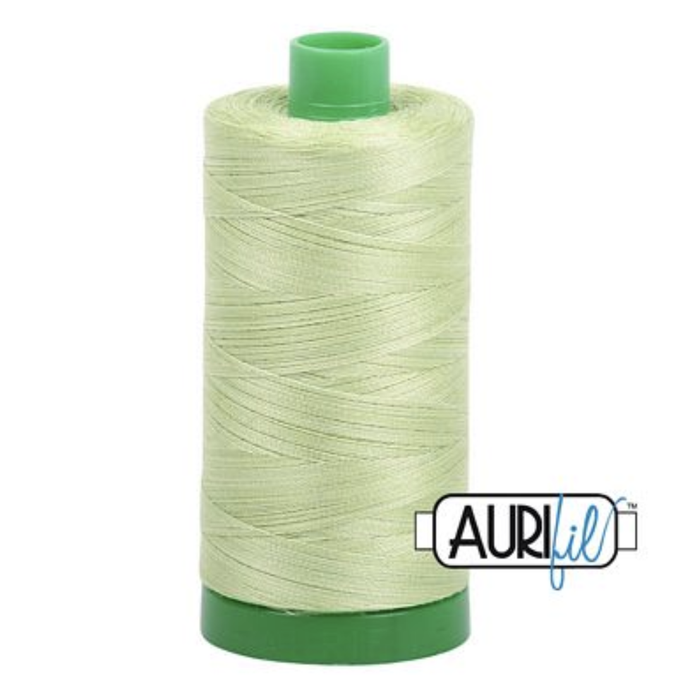 Aurifil #3320 Spring Green Cotton Thread V 40wt