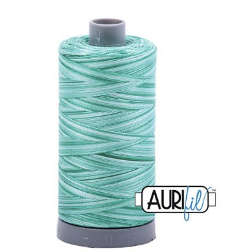 Aurifil 4662 Spotted Greens Cotton Thread V 28wt