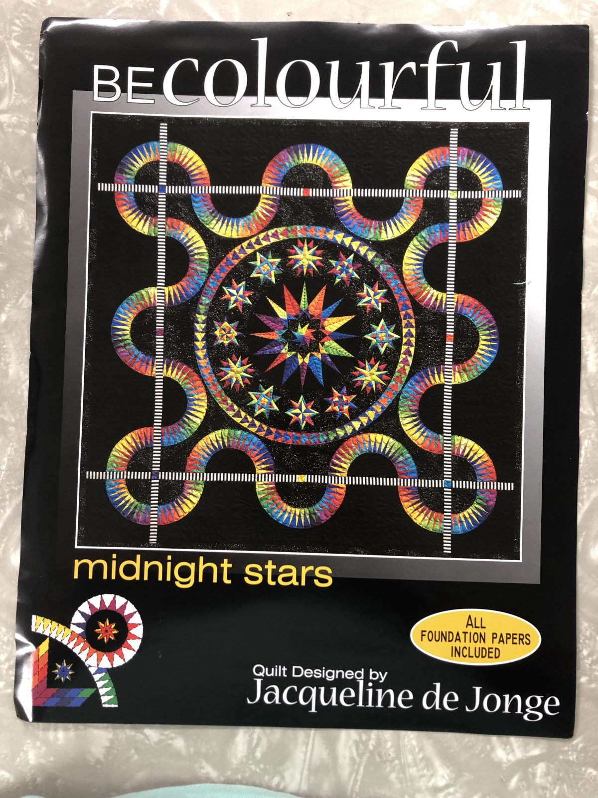 Be Colourful Midnight Stars Pattern