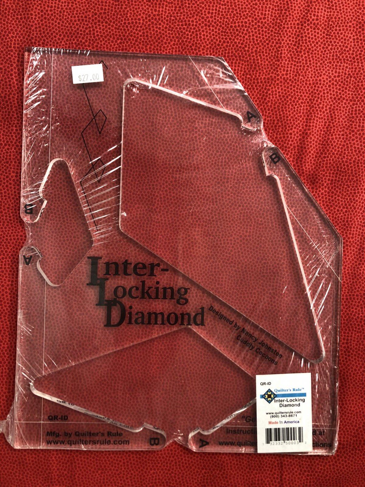 Inter-Locking Diamond