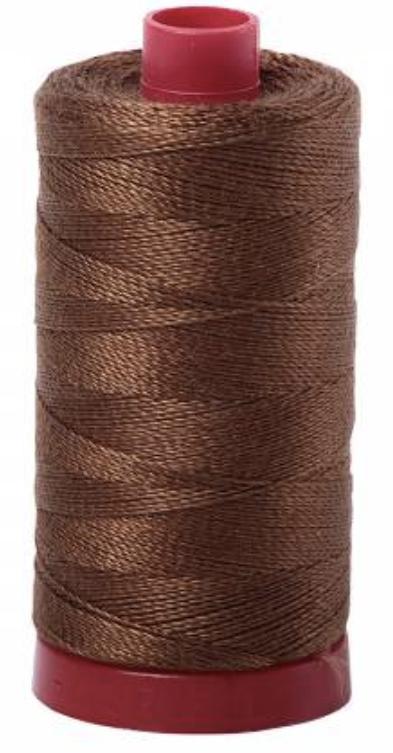 Aurifil #2372 Dk Antique Gold Cotton Thread Solid 12wt