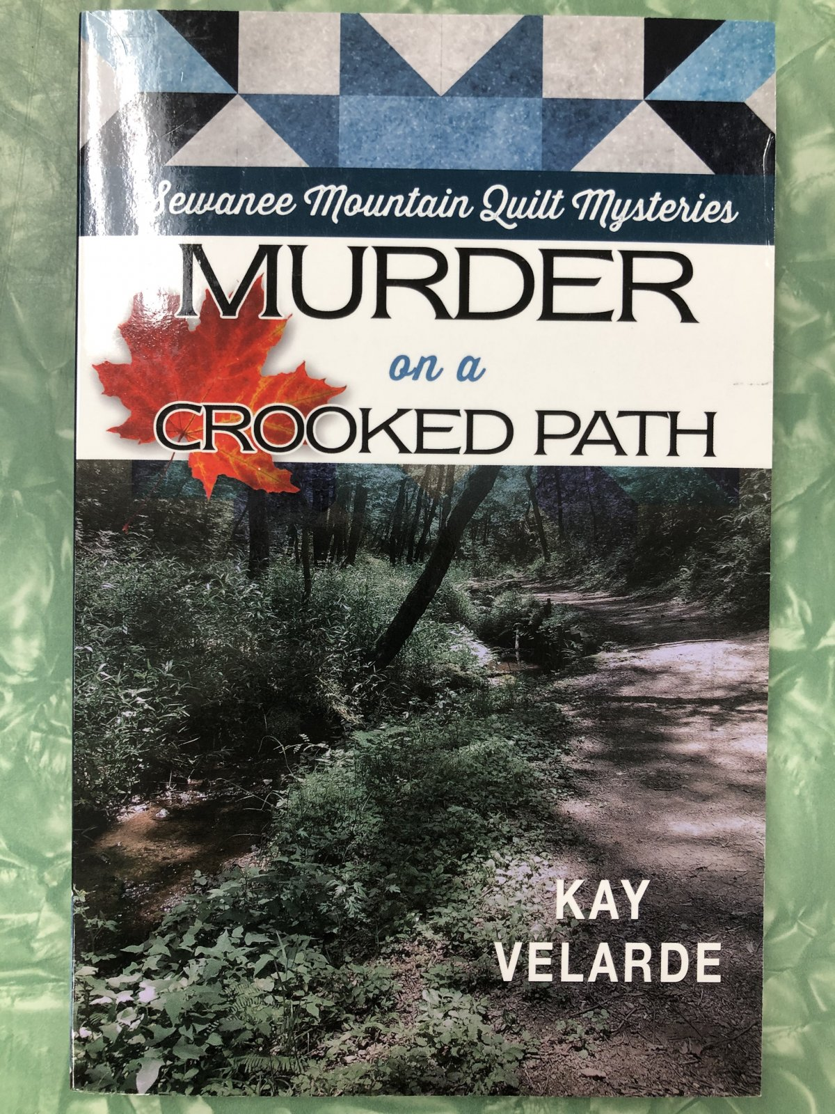 Murder on a Crooked Path - Softcover - Quilting Novels