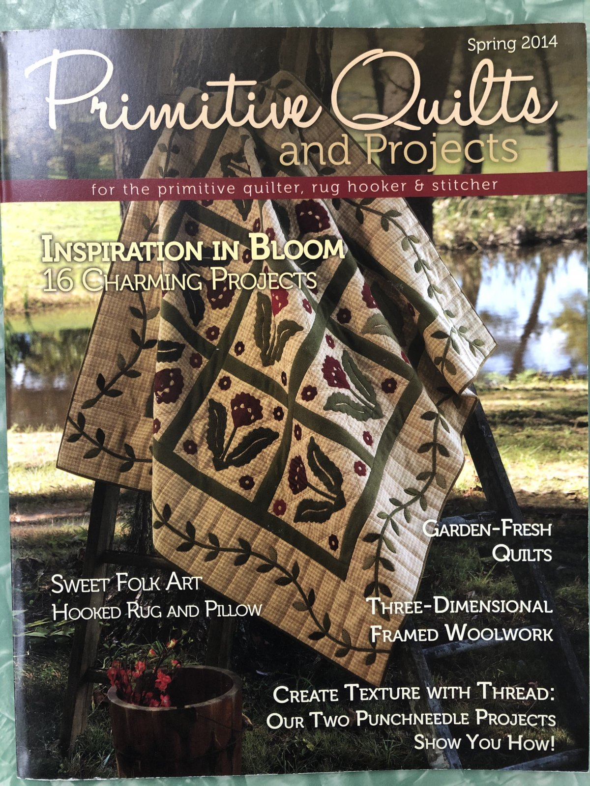 Primitive Quilts & Projects Spring 2014