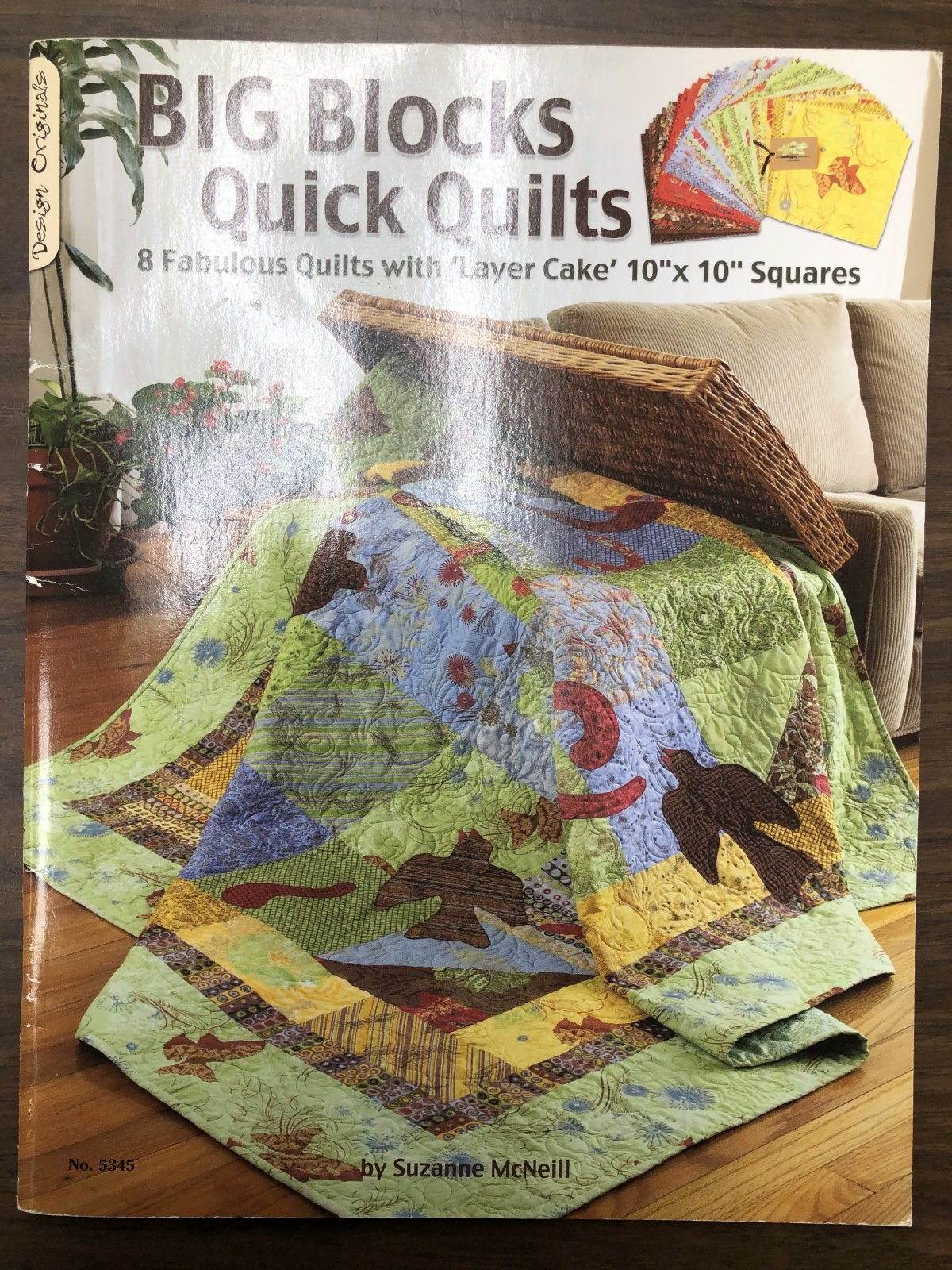 Big Blocks Quick Quilts