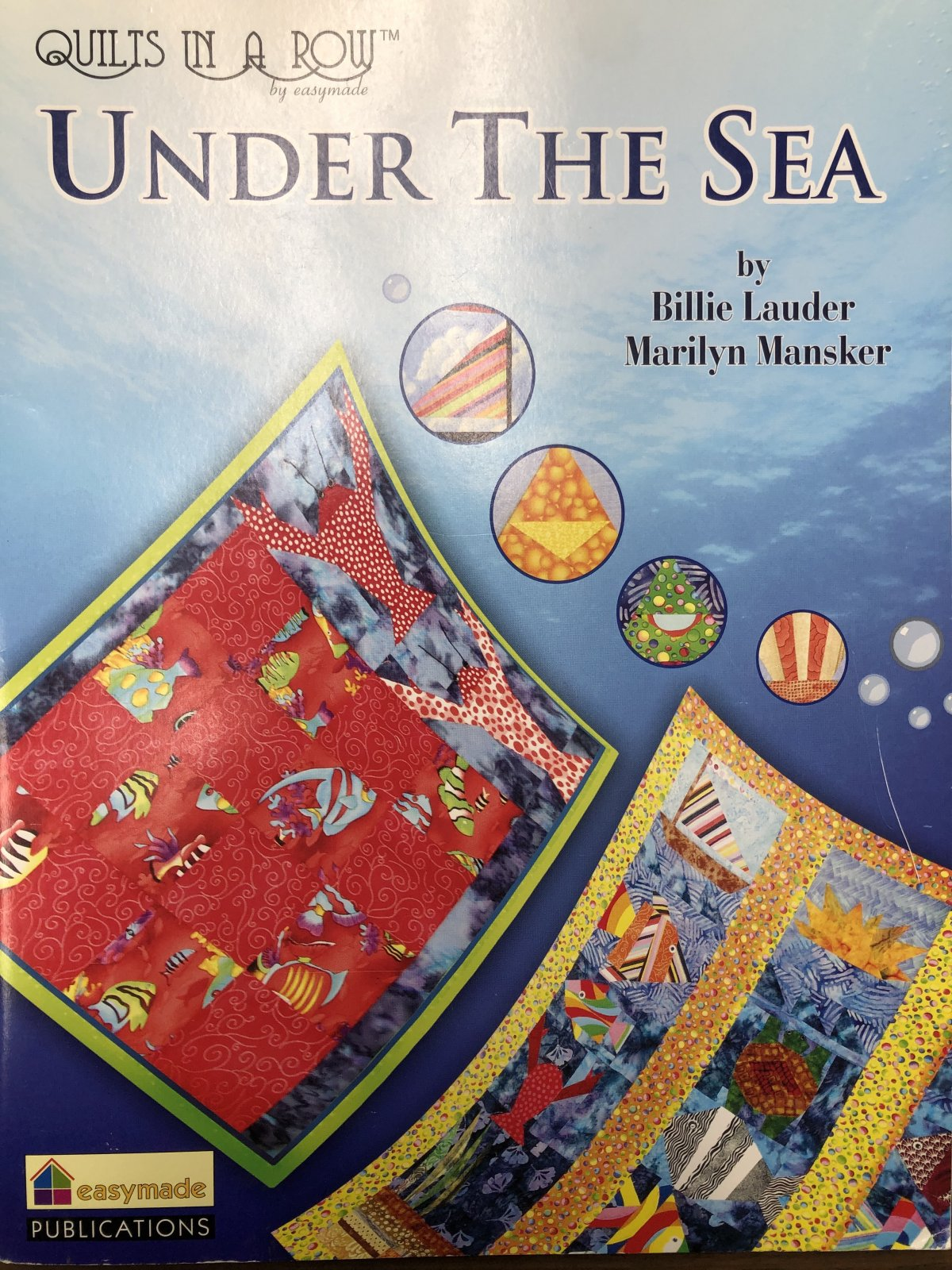 Quilts In a Row Under the Sea