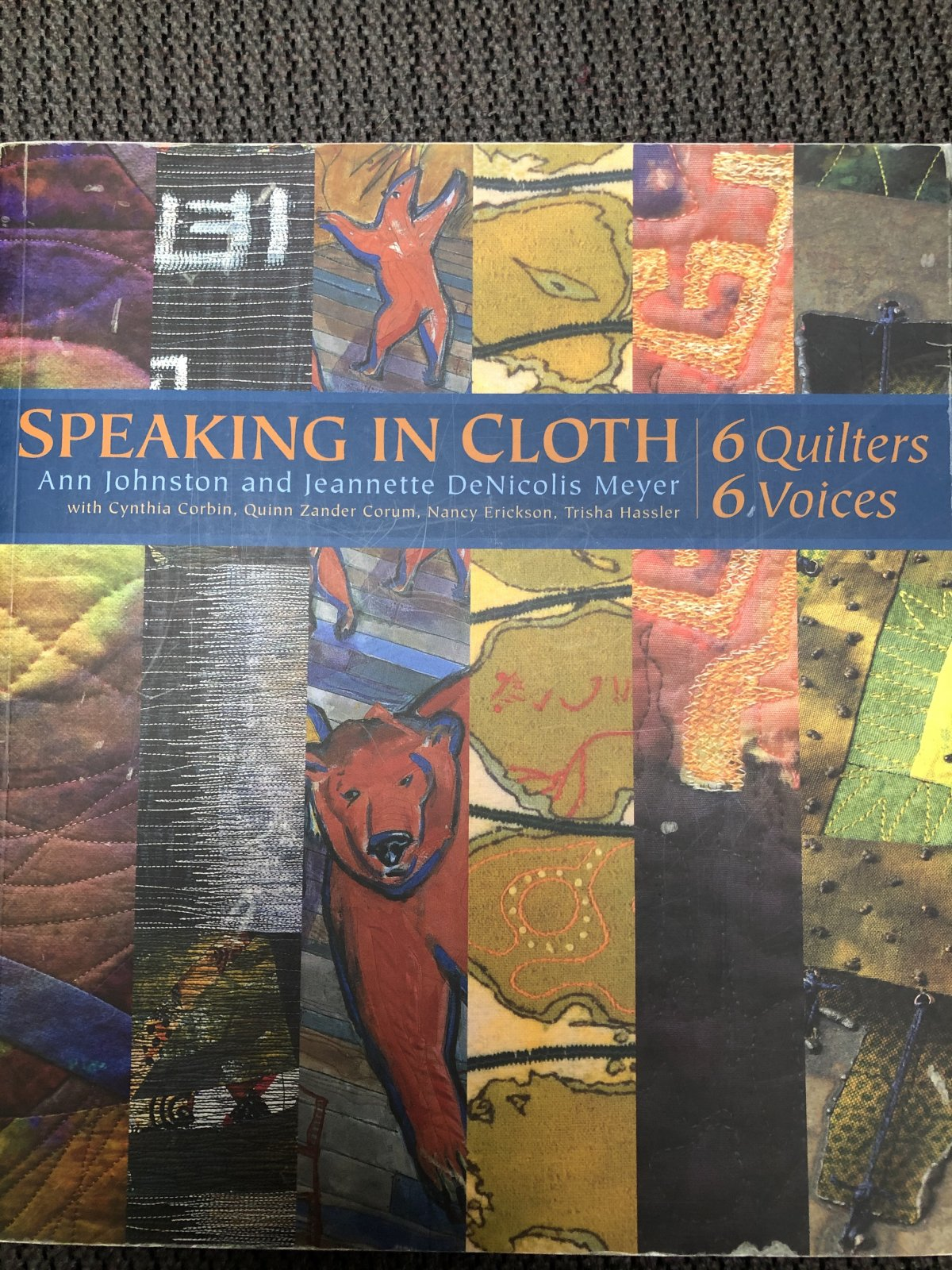 Speaking in Cloth